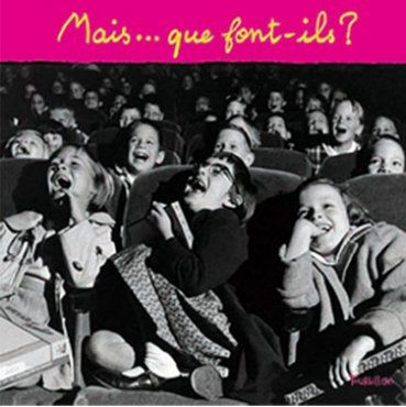 Editions Tourbillon - Mais... que font-ils? Des photos qui décrivent chacun des verbes de la langue française. Un livre avec beaucoup d'inférence!