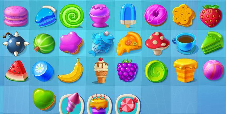 Game icon set. on Behance