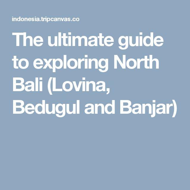 The ultimate guide to exploring North Bali (Lovina, Bedugul and Banjar)