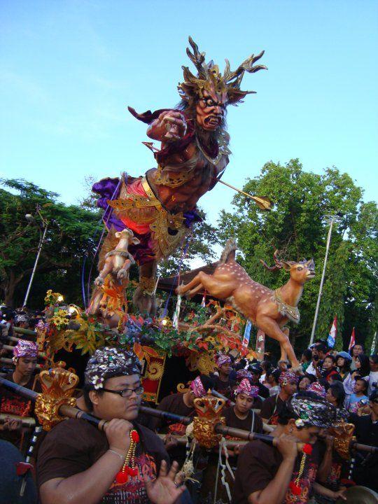 Ogoh - Ogoh. Bali