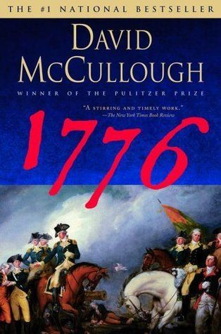 Are you interested in American History?  Click through to read my review of '1776' by David McCullough.  Or save to read later!