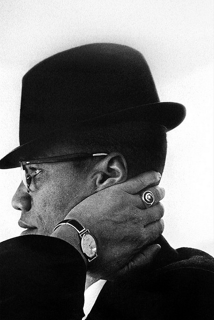 Eve Arnold, Malcolm X, Chicago, 1961
