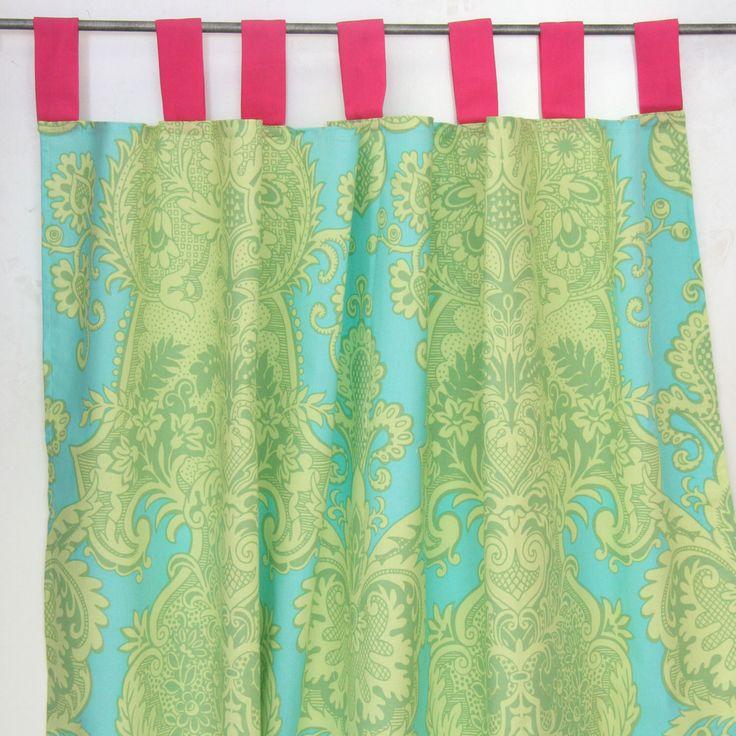 Piper's Paisley Aqua Curtain Panels by CadenLaneBabyBedding on Etsy https://www.etsy.com/listing/194506825/pipers-paisley-aqua-curtain-panels