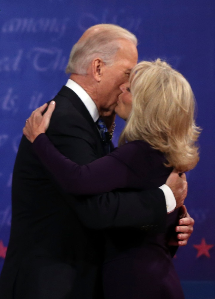 Joe and Jill Biden  Isn't  this just adorable!