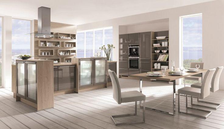 Nowoczesna kuchnia Lux w czterech kolorach: biały, magnolia, piasek, magma. Zapraszamy do salonu mebli Atrii :)