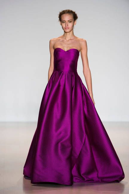 The most outrageously gorgeous gowns from NYFW 2014: Lela Rose