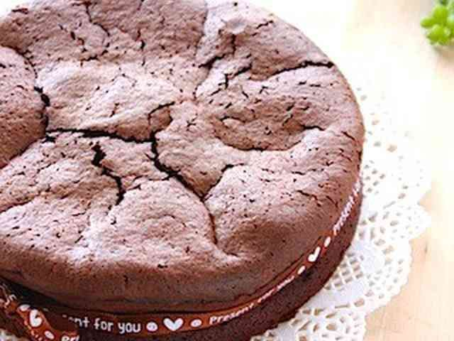 2-ingredients! gateau chocolat