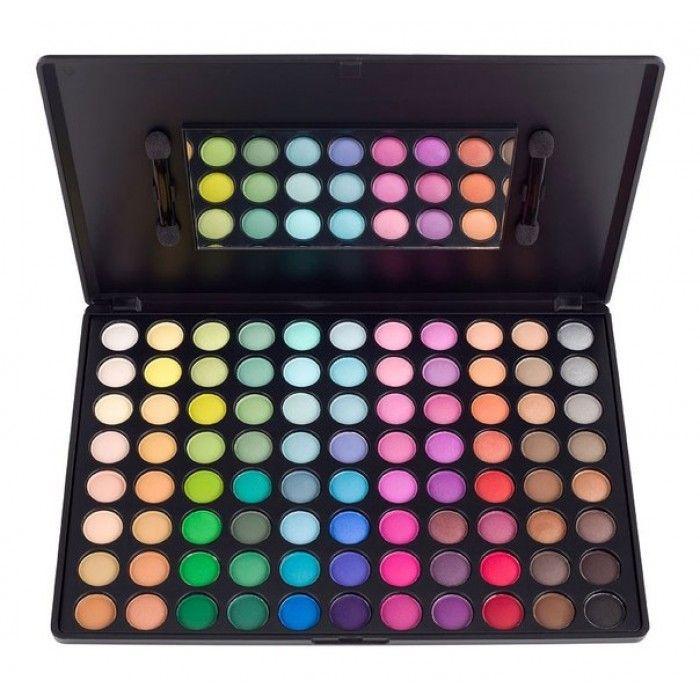 Тени для век Color с зеркалом, 88 цветов