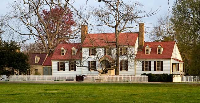 St. George Tucker House in Colonial Williamsburg. His name is Henry St. George Tucker. My husband is a descendant of Henry St. George Tucker.