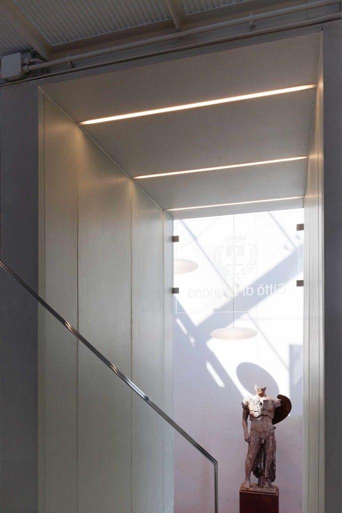 Ampliamento Castello di Legnano - HI LITE Next, Fornitura apparecchi di #illuminazione #viabizzuno For m #c1 led