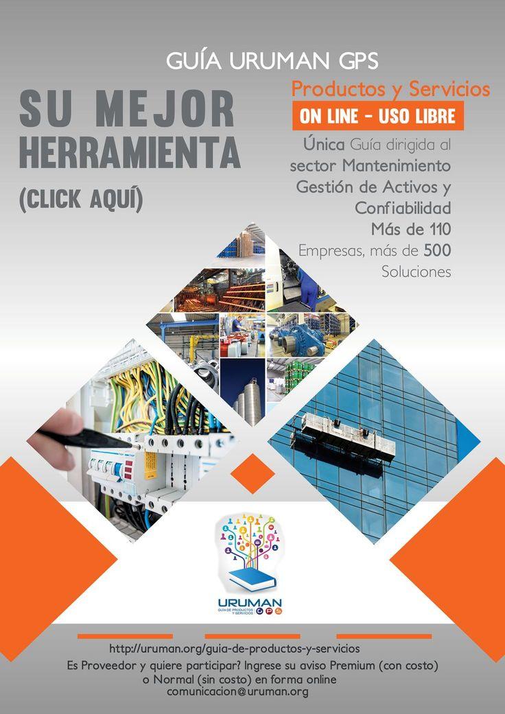 #Guía #Uruguay #Mantenimiento #Confiabilidad #Proveedores #Productos