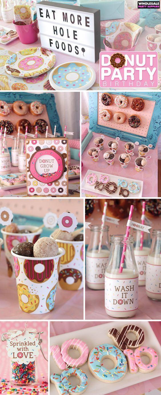 Donut Party Birthday Ideas