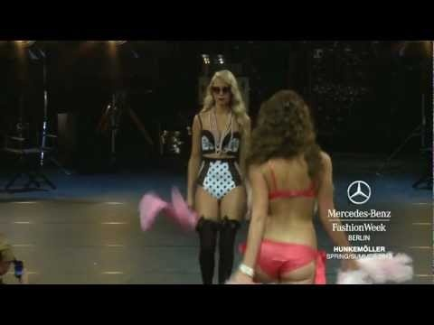Hunkemöller Show Mercedes-Benz Fashion Week Berlin S/S 2013