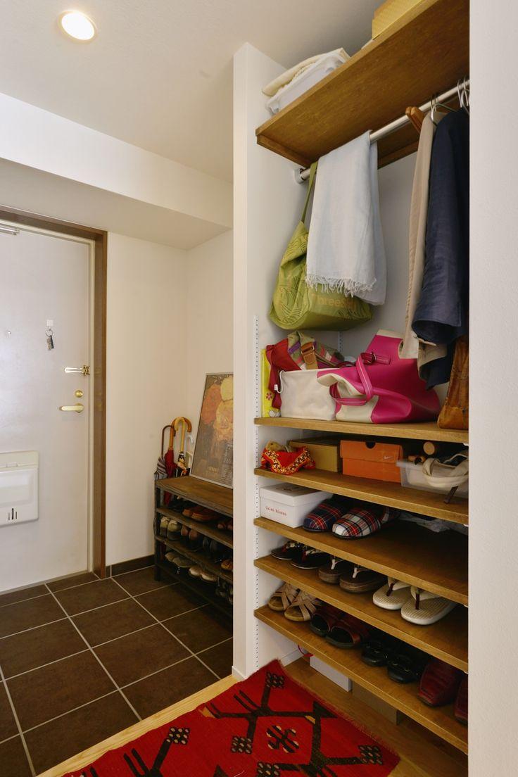 リフォーム・リノベーションの事例|玄関|施工事例No.447お気に入りのダイニングテーブルが映える、和モダンのリビング|スタイル工房