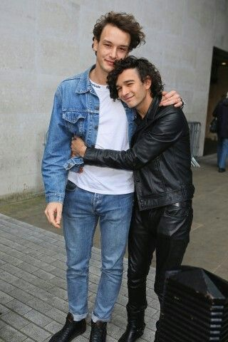 I scrolled past that and assumed it was a picture of George with a fan and then I looked back...and it was Matty