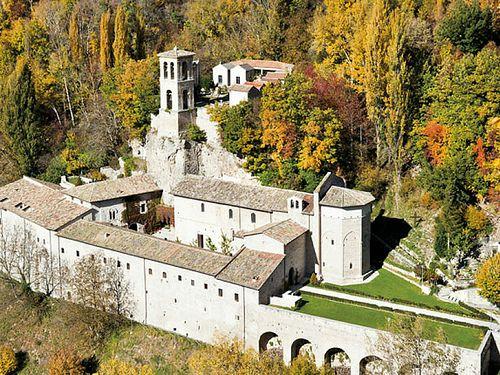 Preci, Abbazia di Sant'Eutizio Umbria #TuscanyAgriturismoGiratola