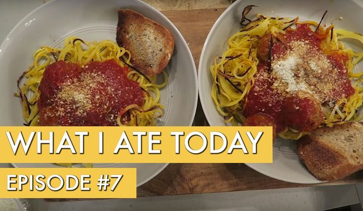 What I Ate Today: Episode 7 - YouTube