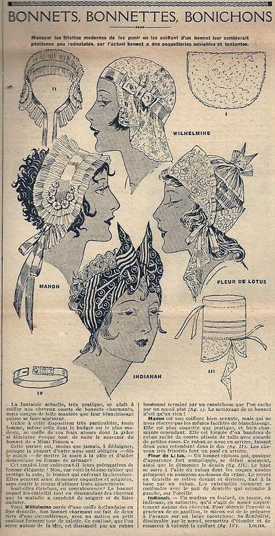 Le Petit Écho de la Mode - 31 août 1930 http://isabellurette.tumblr.com/archive