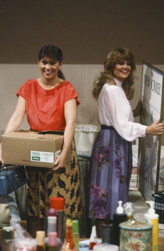 Nancy McKeon and Lisa Whelchel in The Facts of Life (1979)
