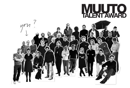 Muuto Talent Award - design competition for Nordic design students and recent graduates