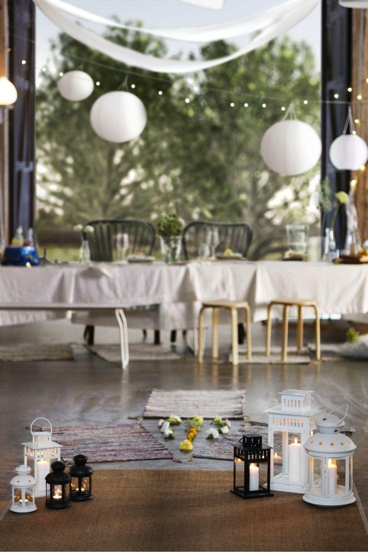 126 best weddings images on pinterest ikea ideas ikea for Decoration ikea