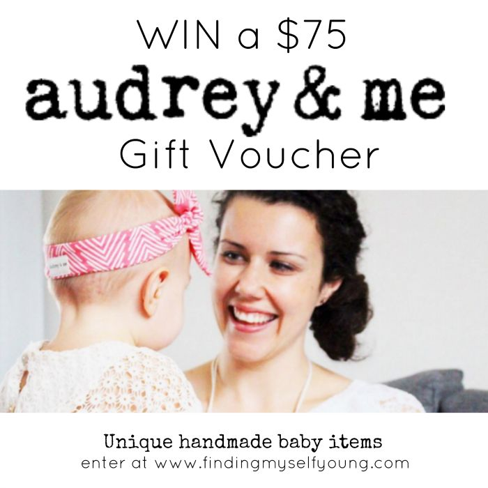 Finding Myself Young: Audrey & Me baby boutique review + giveaway. Win a $75 gift voucher.