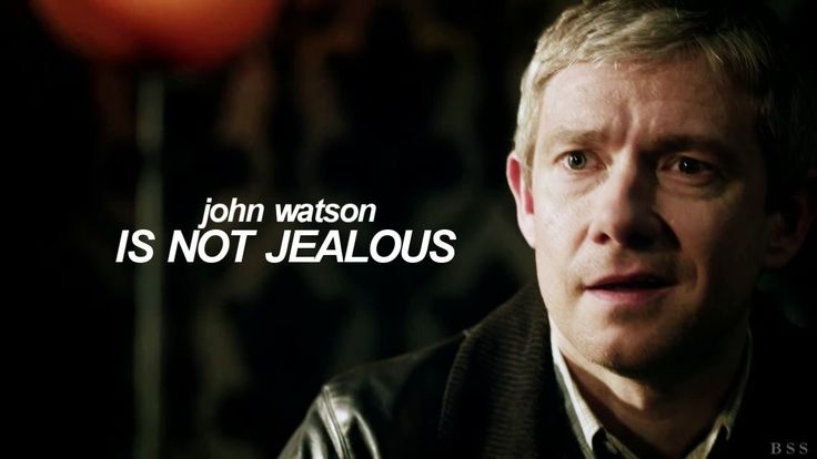 BBC Sherlock humor — John Watson is NOT jealous - YouTube