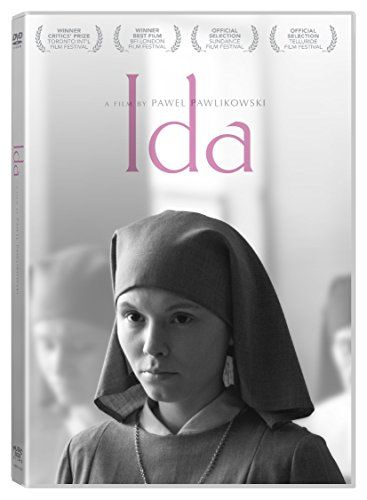 Ida-  A moving and intimate drama about a young novitiate nun in 1960s Poland who, on the verge of taking her vows, discovers a dark family secret dating from the terrible years of the Nazi occupation.