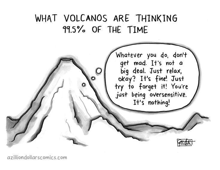 anxious volcano