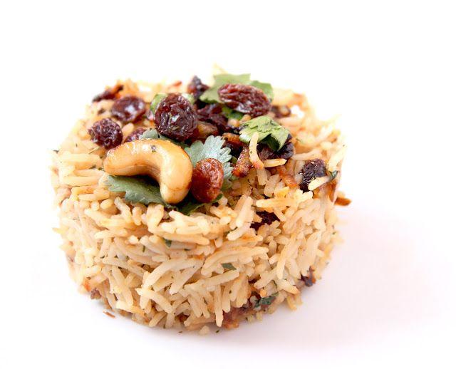 La Cuisine de Bernard: Le Riz Indien aux Fruits Secs