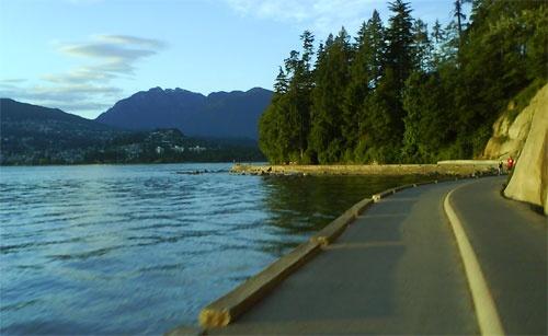 Vancouver Seawall bike ride