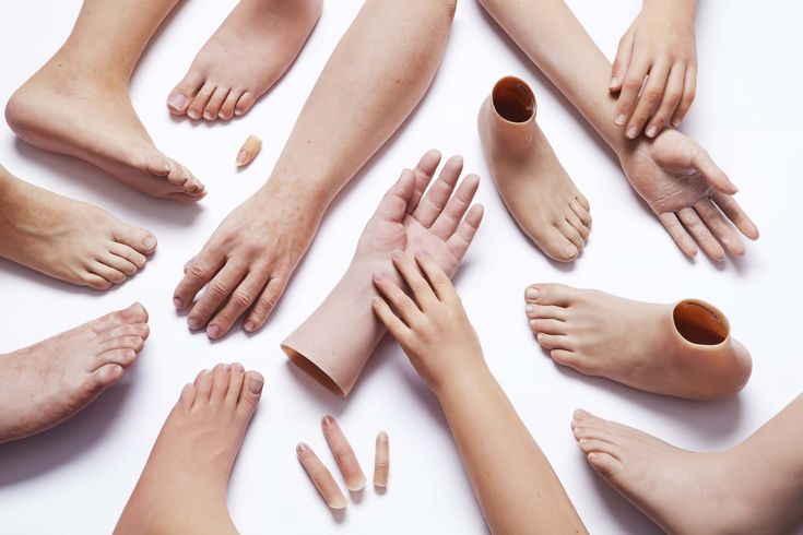 HD Silicone Prosthetic Hands and Feet  Silicone