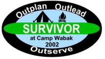 SURVIVOR CAMP THEME, great for scouts activities