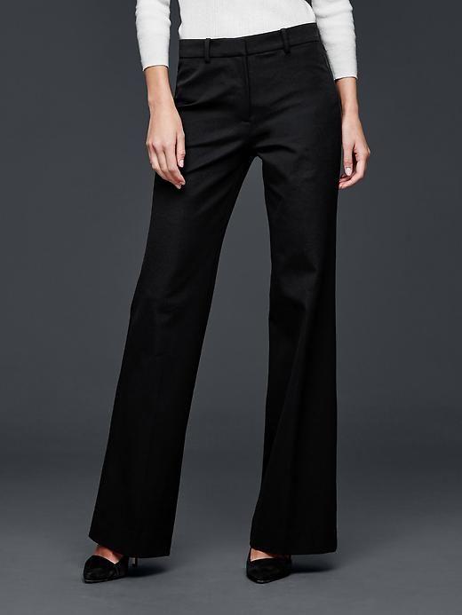 Bi-stretch flare pants | Gap