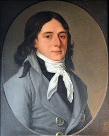 Portrait anonyme de Camille Desmoulins, Musée Carnavalet.