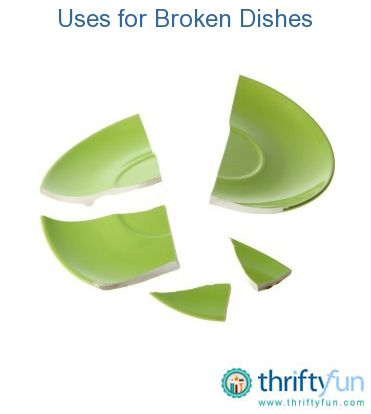 This guide is about reusing broken dishes. Sometimes broken china and pottery can be used in very interesting ways to create something new.