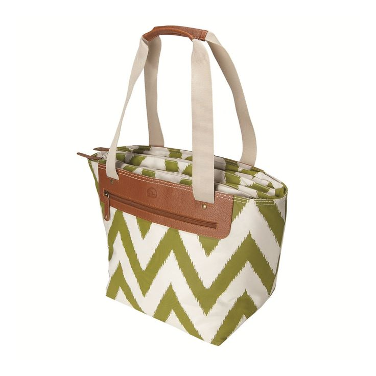 Ikat Zag Tote, Pear made by Outdoor Adventures.