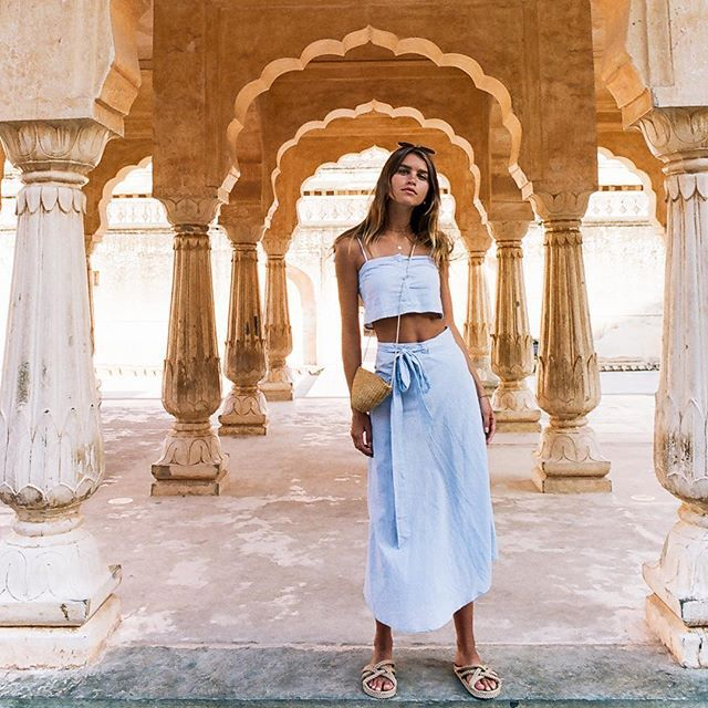 WEBSTA @ faithfullthebrand - Follow us to India  View our latest editorial photographed by @wolfcubwolfcub in Jaipur featuring styles from our new collection • View via link in profile #faithfulltravels #35mm