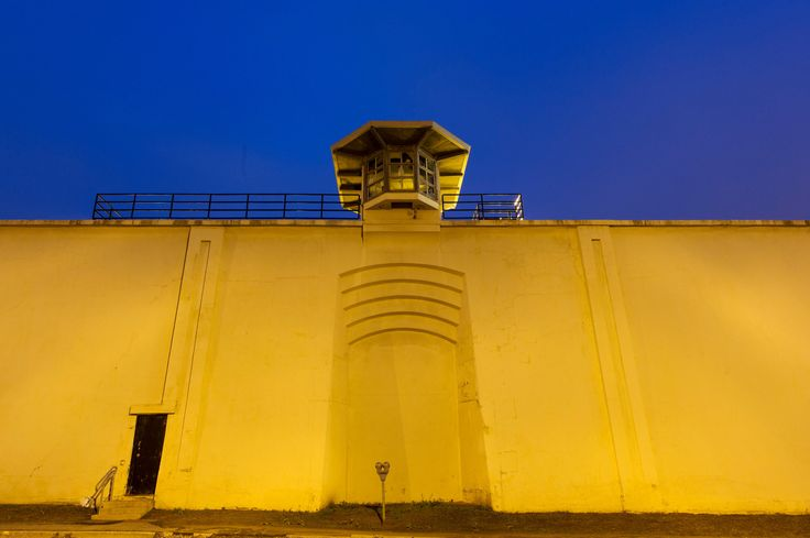 There's always a way... Two of the 35-foot-high guard towers were not staffed the night of the escape. - Mark Lennihan/Associated Press