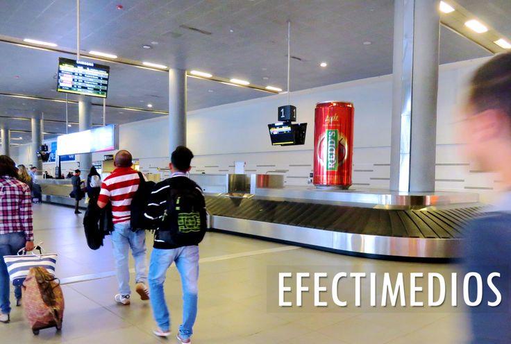 ¿Ya conoces nuestros Glorificadores y Volumetrías instaladas en Aeropuertos? Tenemos lo mejor de los Medios OOH para sus campañas. Redd's - Sin Amarguras #SinAmarguras Old Parr #CelebremosMás #OldParr
