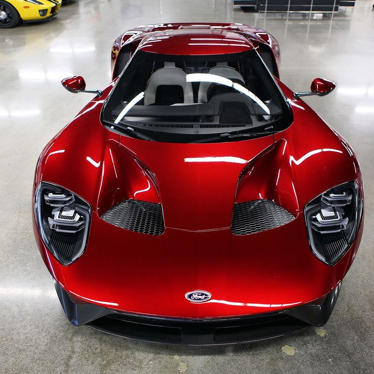 Ford Gt Liquid Red With Reentry Interior With Ford Gt Red