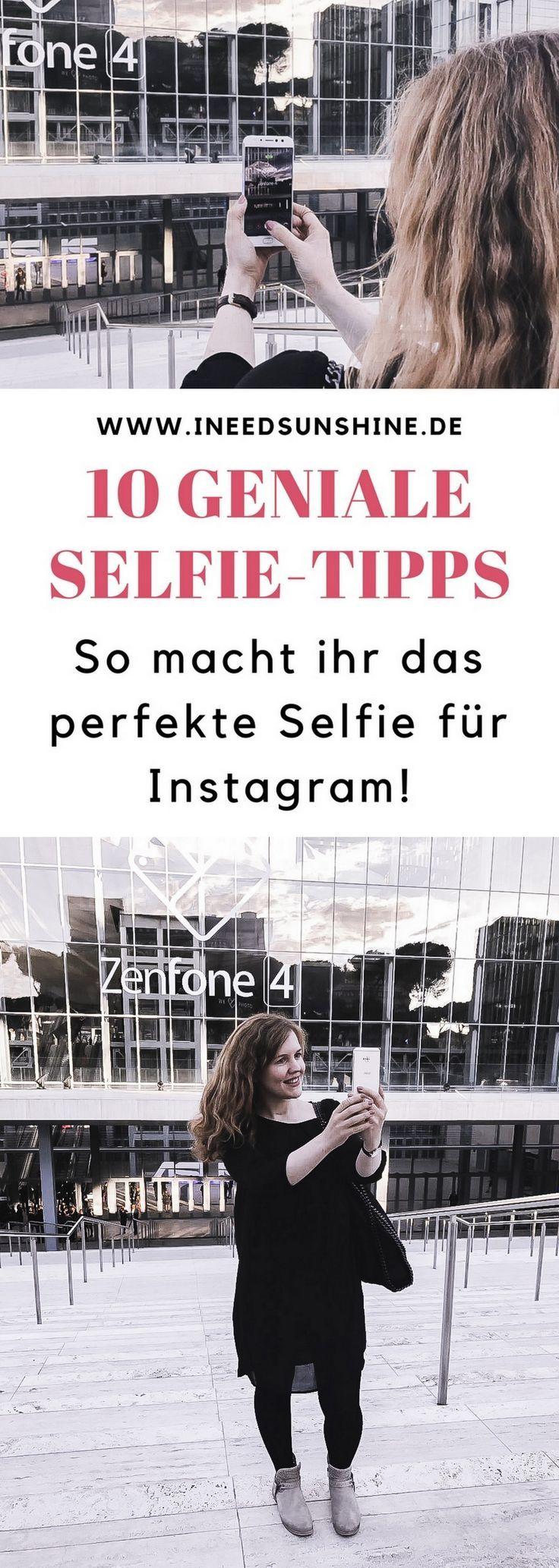 10 einfache Selfie-Tipps für Instagram