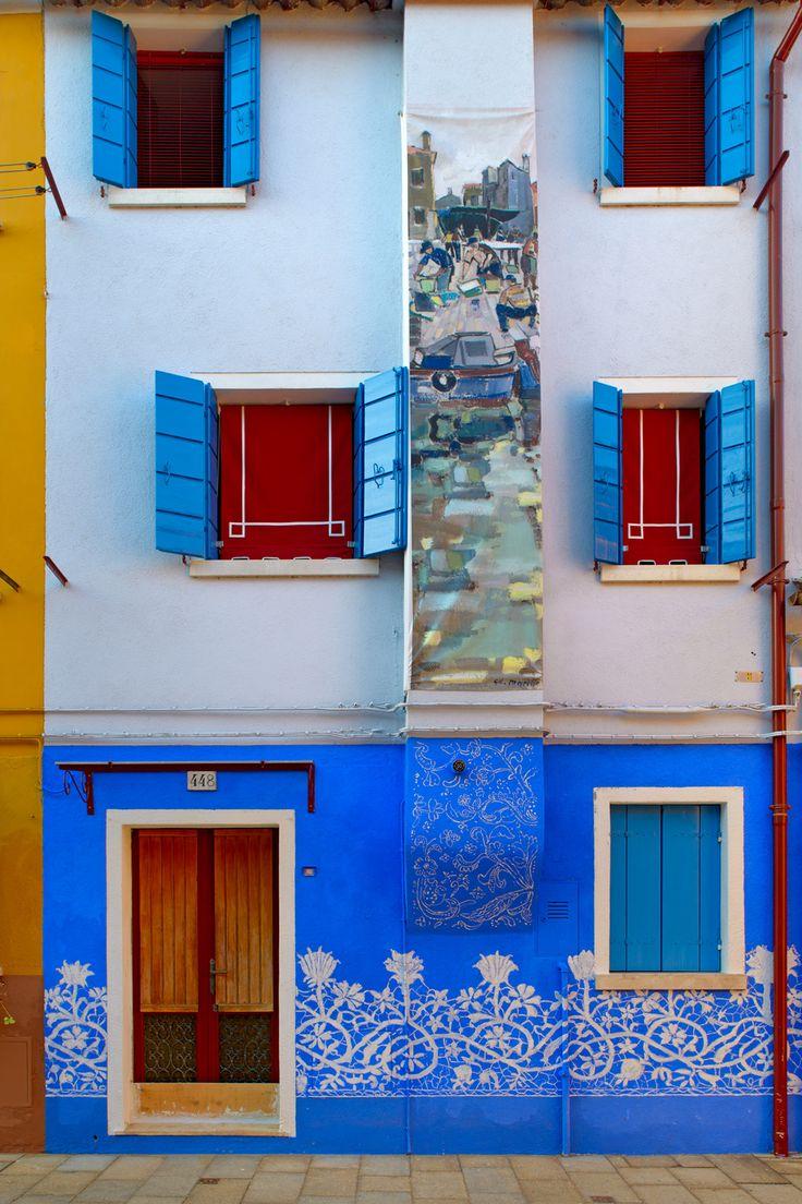 Blue Lace, Burano, Venice, Italy