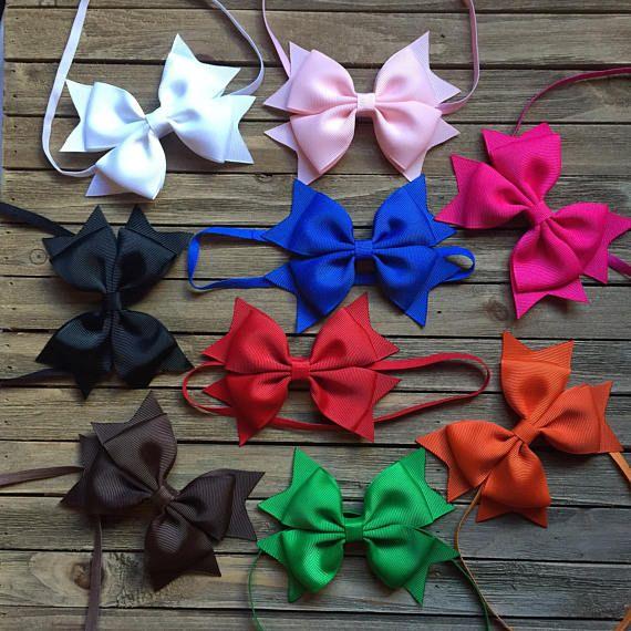 Baby Headband lot  headbands for girls  set of 9  4 inch