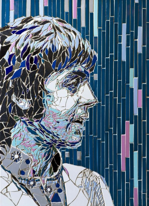 Mosaic artwork shows off famous faces like you've never seen them before | Creative Boom Blog | Art, Design, Creativity