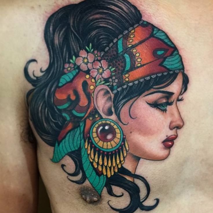Tattoo Woman Gypsy: Top 25+ Best Gypsy Tattoos Ideas On Pinterest