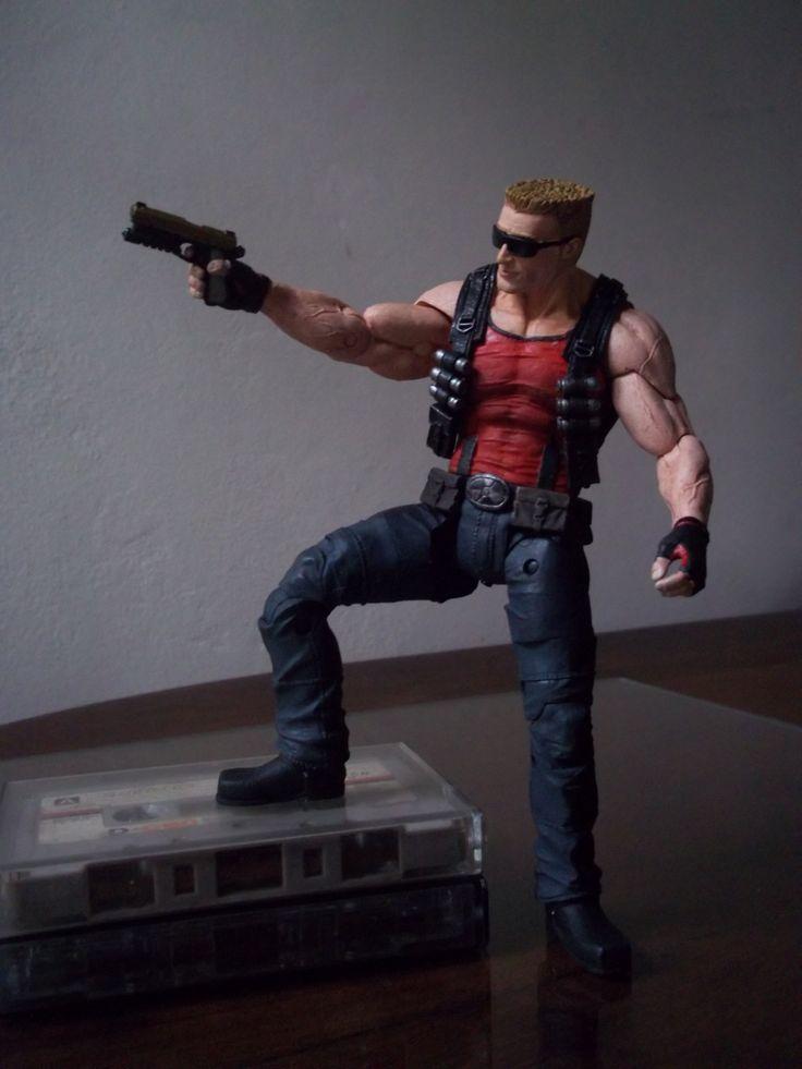 My Duke Nukem NECA. Really kick ass. And yep, I'm still listening music on cassette´s.