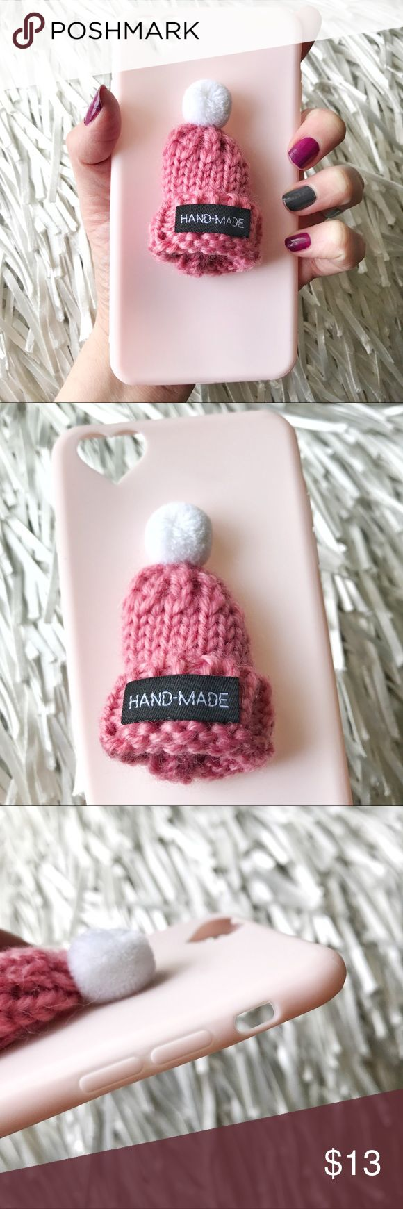 Host PickNEW iPhone 6/6s Plus Knit Hat Case ▪️Fits the iPhone 6 Plus or 6s Plus  models   ▪️High Quality Soft TPU - Thick & Shock-Resistant   ▪️Same or Next Business Day Shipping ! Accessories Phone Cases