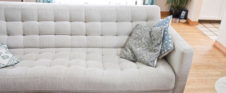 Deep Clean Your Natural-Fabric Couch For Better Snuggling...or, if your two-year-old peed on it...just sayin...