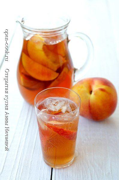 Уютный хомячий мир - Холодный персиковый чай